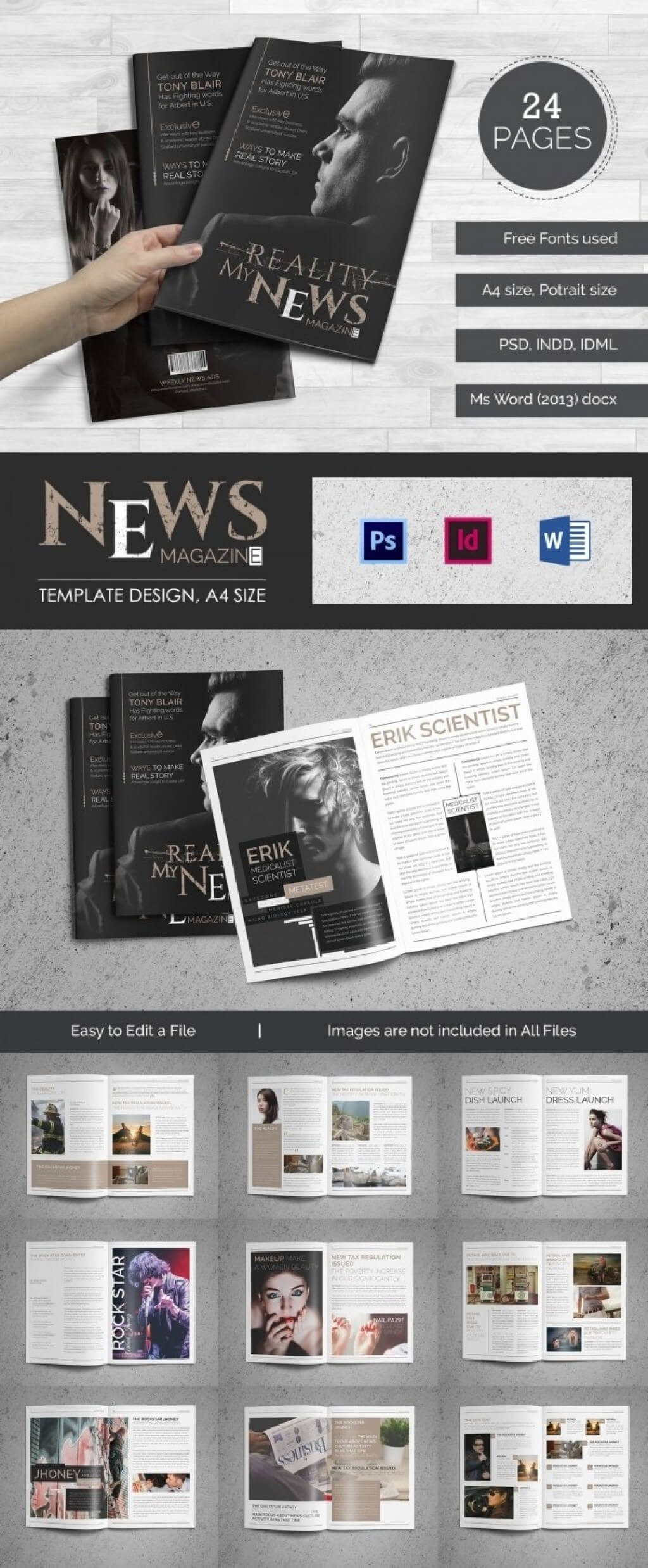 025 Template Ideas Magazine Free Word 4 R Unforgettable intended for Magazine Template For Microsoft Word
