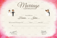 031 Certificate Of Marriage Template Certificate28129 regarding Certificate Of Marriage Template