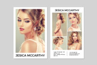 031 Model Comp Card Template Outstanding Ideas Male Download with Free Comp Card Template