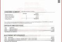 031 Wells Fargo Bank Statement Template Fake Chase Free with Blank Bank Statement Template Download