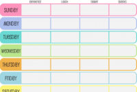 032 Free Menu Plan Template Unique Ideas Weekly Planner And within Menu Planning Template Word