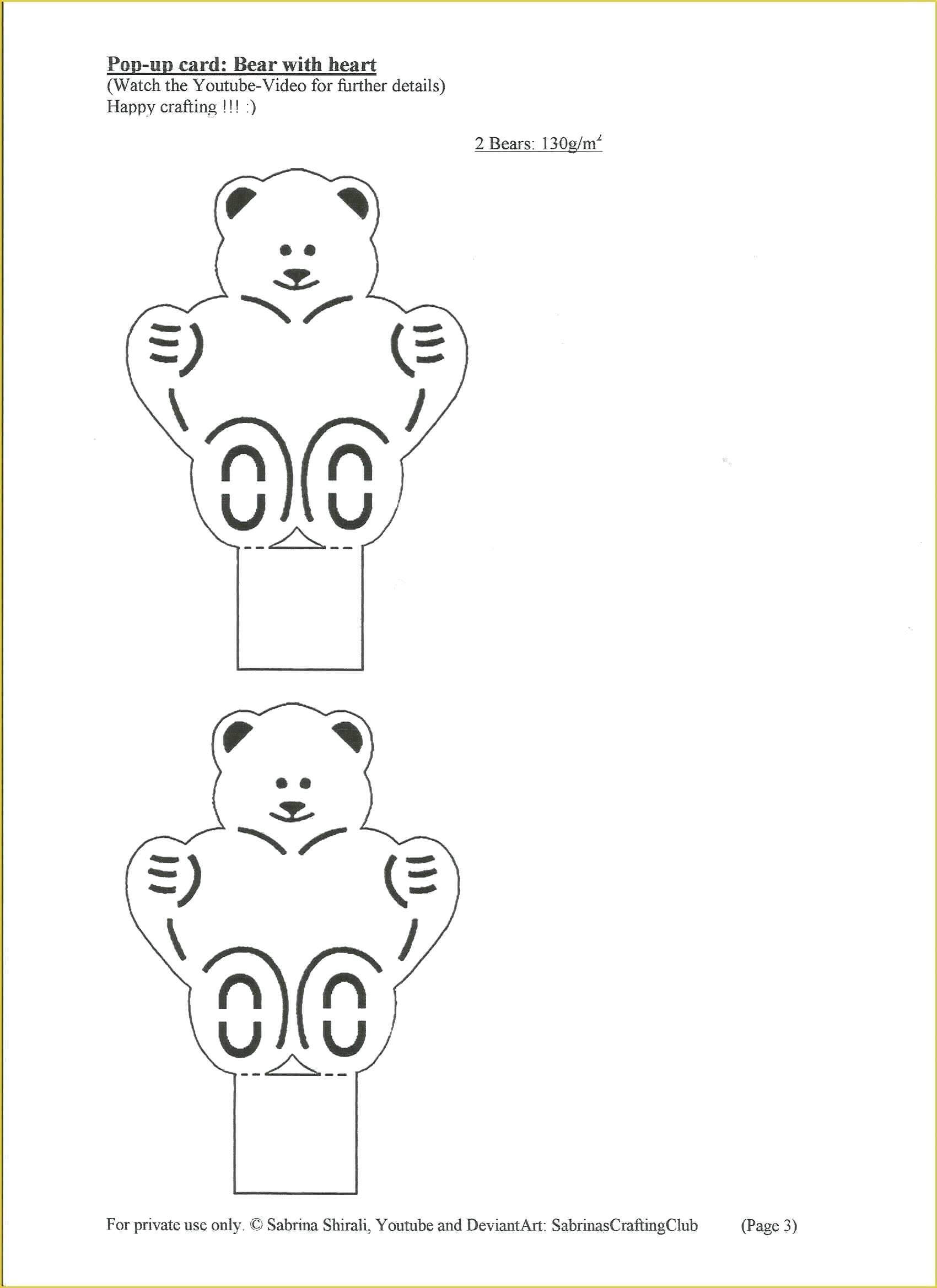 032 Pop Up Card Templates Free Download Of Carriage Template inside Teddy Bear Pop Up Card Template Free