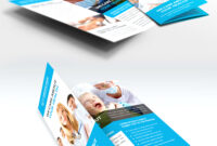 033 Medical Care And Hospital Trifold Brochure Template Free with Brochure Template Illustrator Free Download
