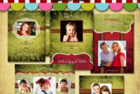 033 Photoshop Christmas Card Templates Template Amazing with Free Photoshop Christmas Card Templates For Photographers