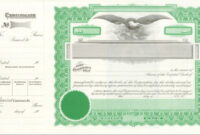 033 Template Ideas Stock Certificate Word Free Microsoft with Stock Certificate Template Word