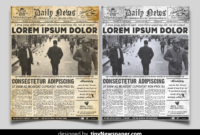 035 Old Newspaper Template Microsoft Word Ideas Free pertaining to Old Newspaper Template Word Free