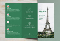 040 Travel France Trifold Brochure Template Tri Fold Free intended for Open Office Brochure Template