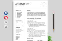 043 Simple Modern Resume Template Free Download Ideas With Regard To Free Downloadable Resume Templates For Word