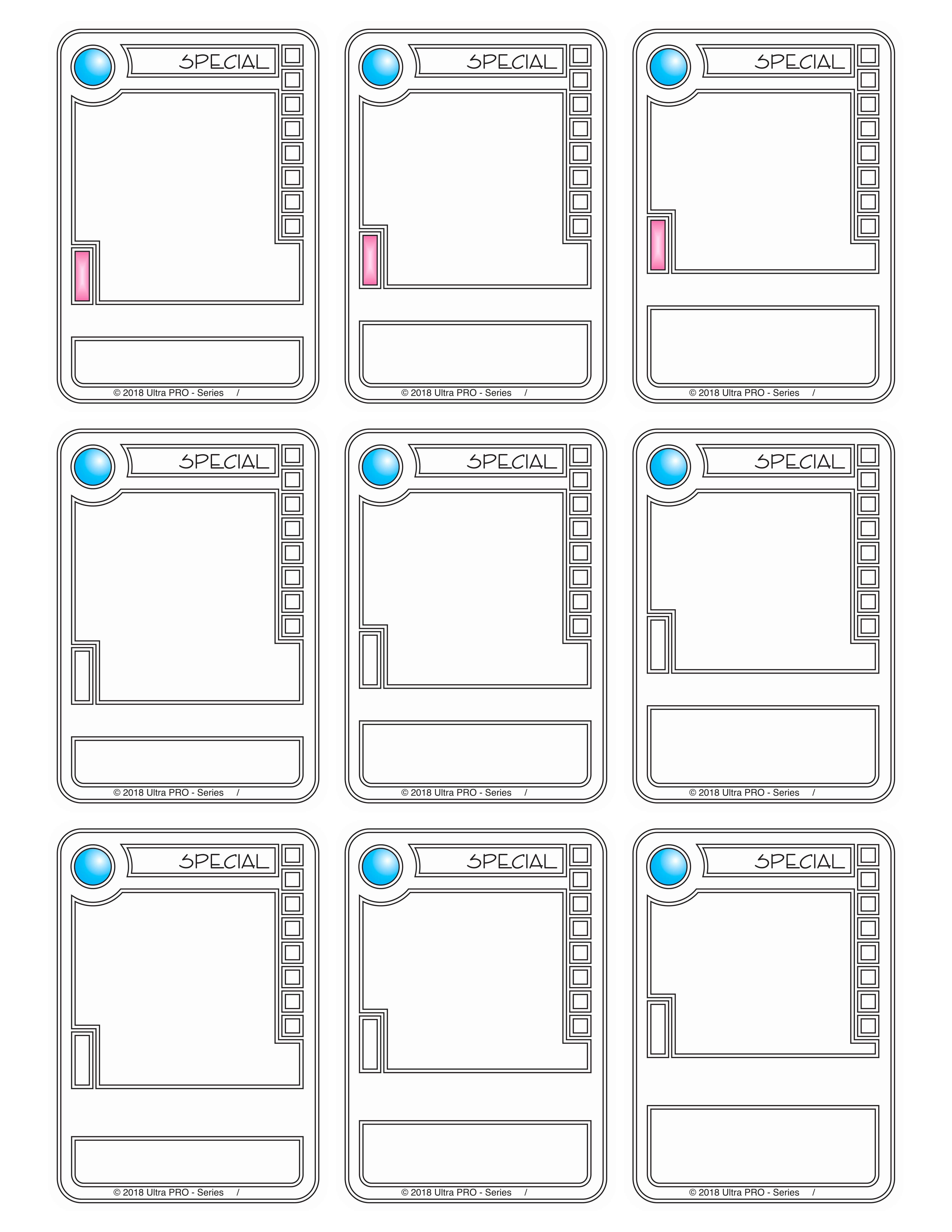 046 Killerbunnies Printable Baseball Card Template Wondrous with Baseball Card Size Template