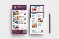 047 Template Ideas Free Menu Design Templates Dl Rack Card regarding Free Rack Card Template Word