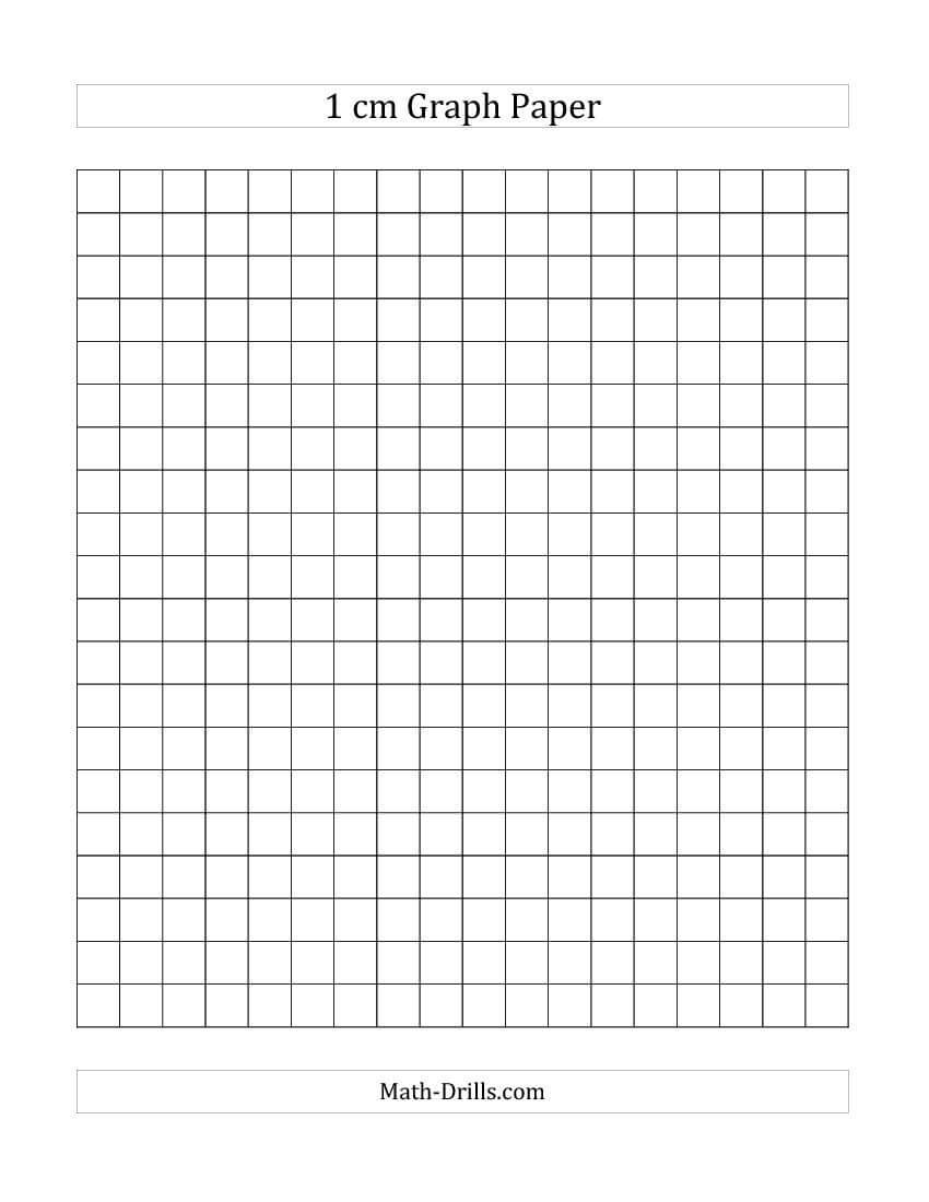 1 Cm Graph Paper (All) | Graph Paper, Printable Graph Paper for 1 Cm Graph Paper Template Word