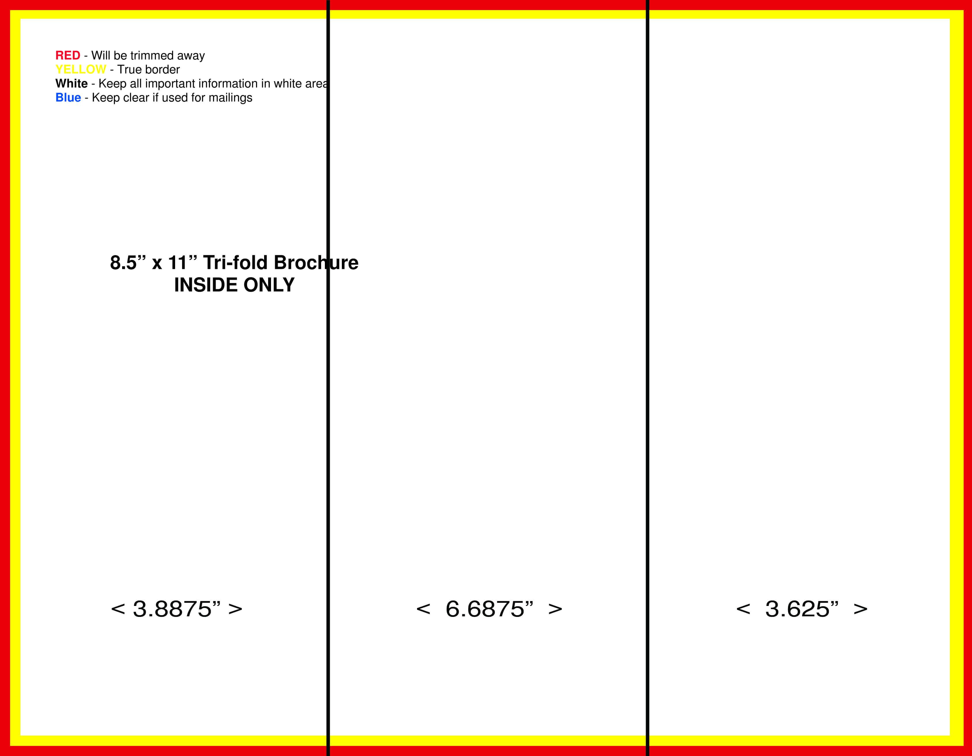 10+ 3 Fold Brochure Templates | 1Mundoreal inside Brochure Folding Templates