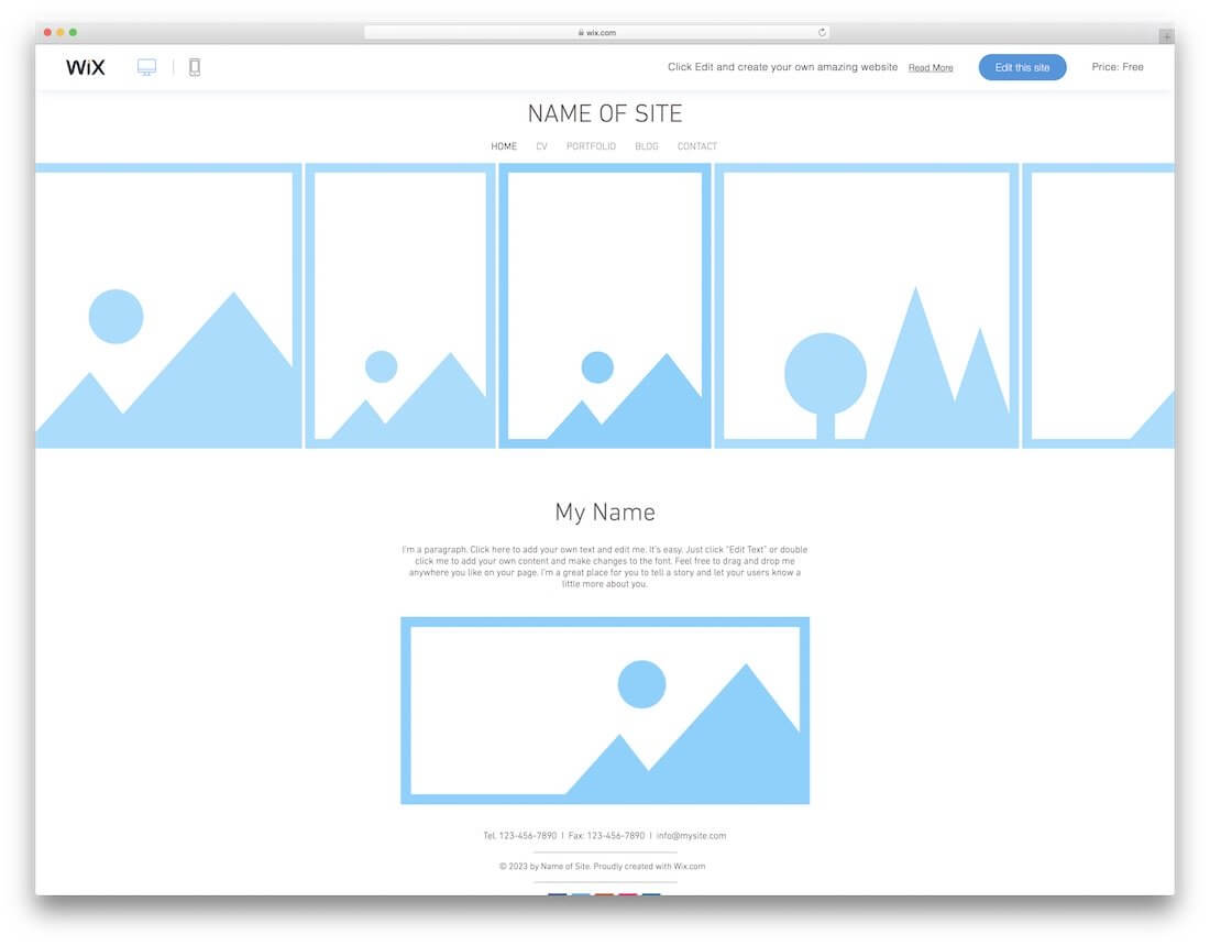 10+ Best Free Blank Website Templates For Neat Sites 2019 In Blank Html Templates Free Download