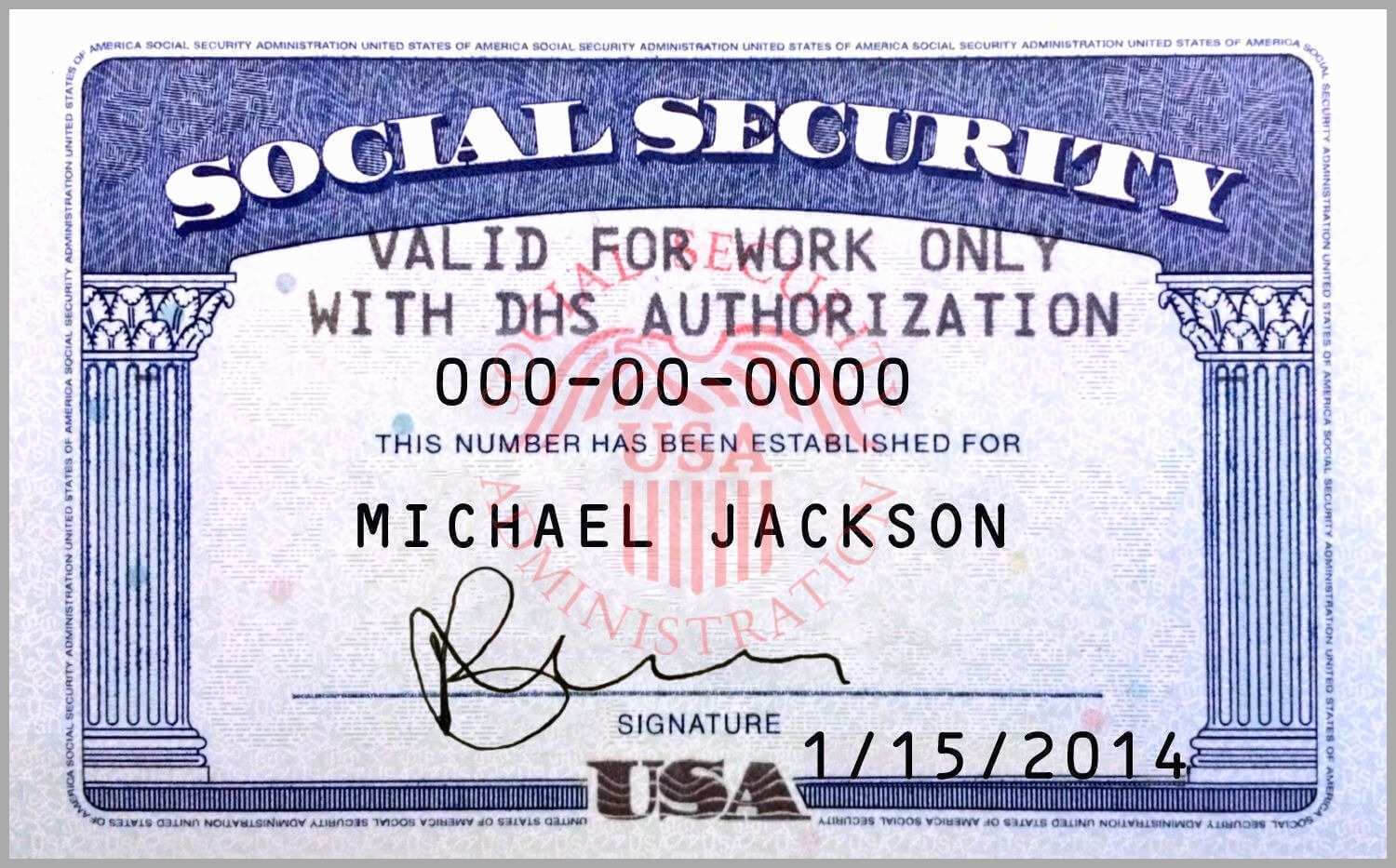 10 Blank Social Security Card Template | Proposal Sample inside Social Security Card Template Pdf
