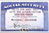 10 Blank Social Security Card Template | Proposal Sample pertaining to Blank Social Security Card Template