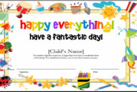 10+ Certificate Template Clipart | Clipartlook within Children's Certificate Template