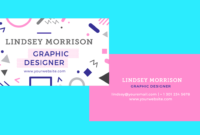 10 Clean & Simple Business Card Templates Perfect For Any with Freelance Business Card Template
