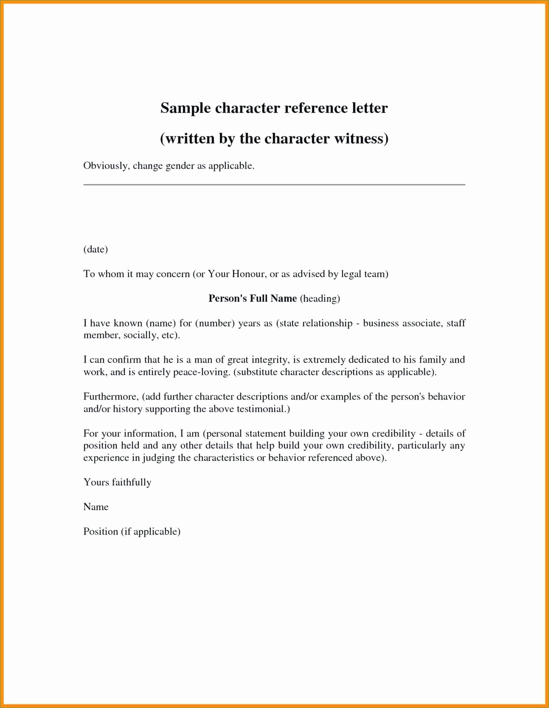 10 Example Of Professional Reference Letter | Proposal Sample for Business Reference Template Word