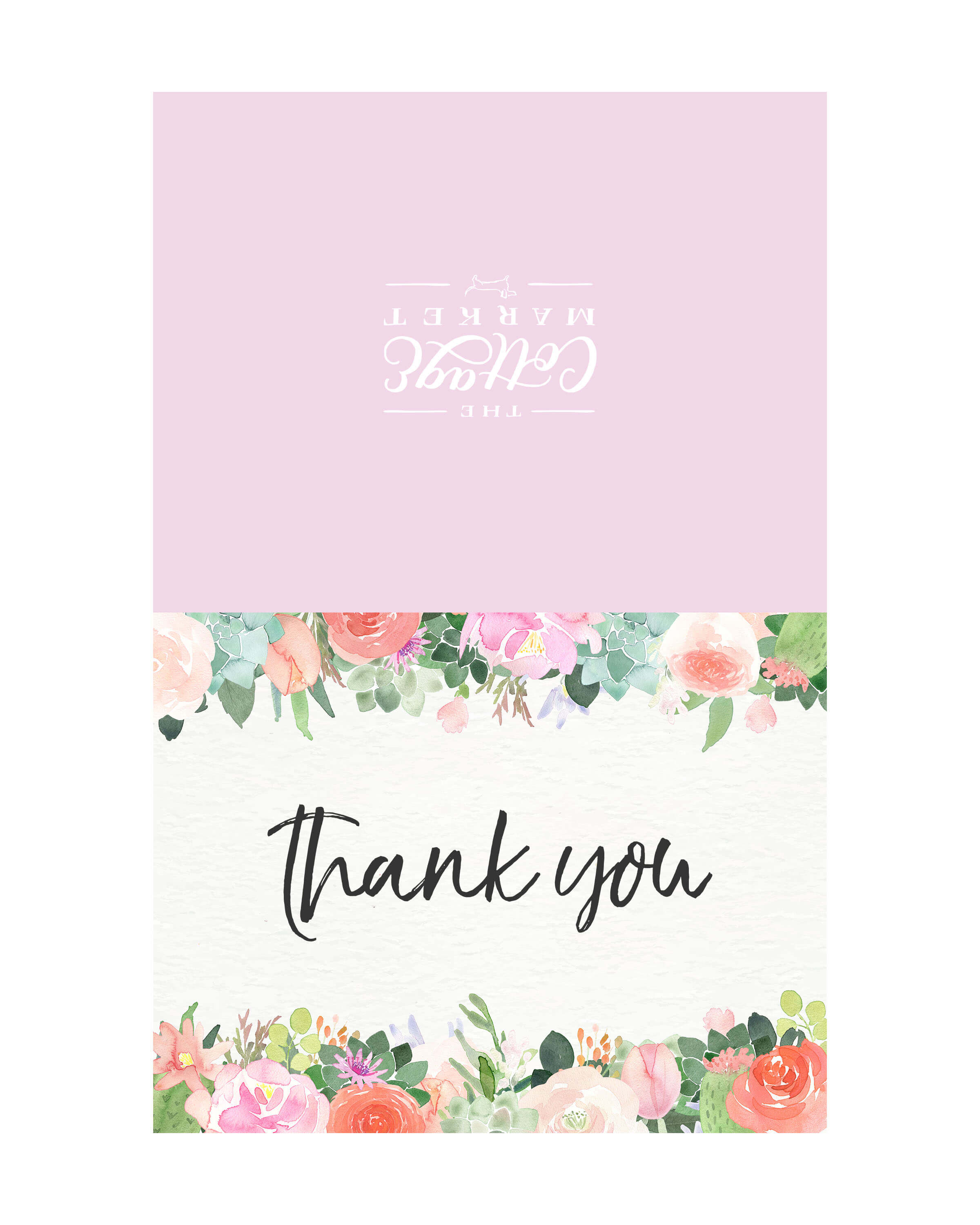 10 Free Printable Thank You Cards You Can't Miss - The throughout Free Printable Thank You Card Template