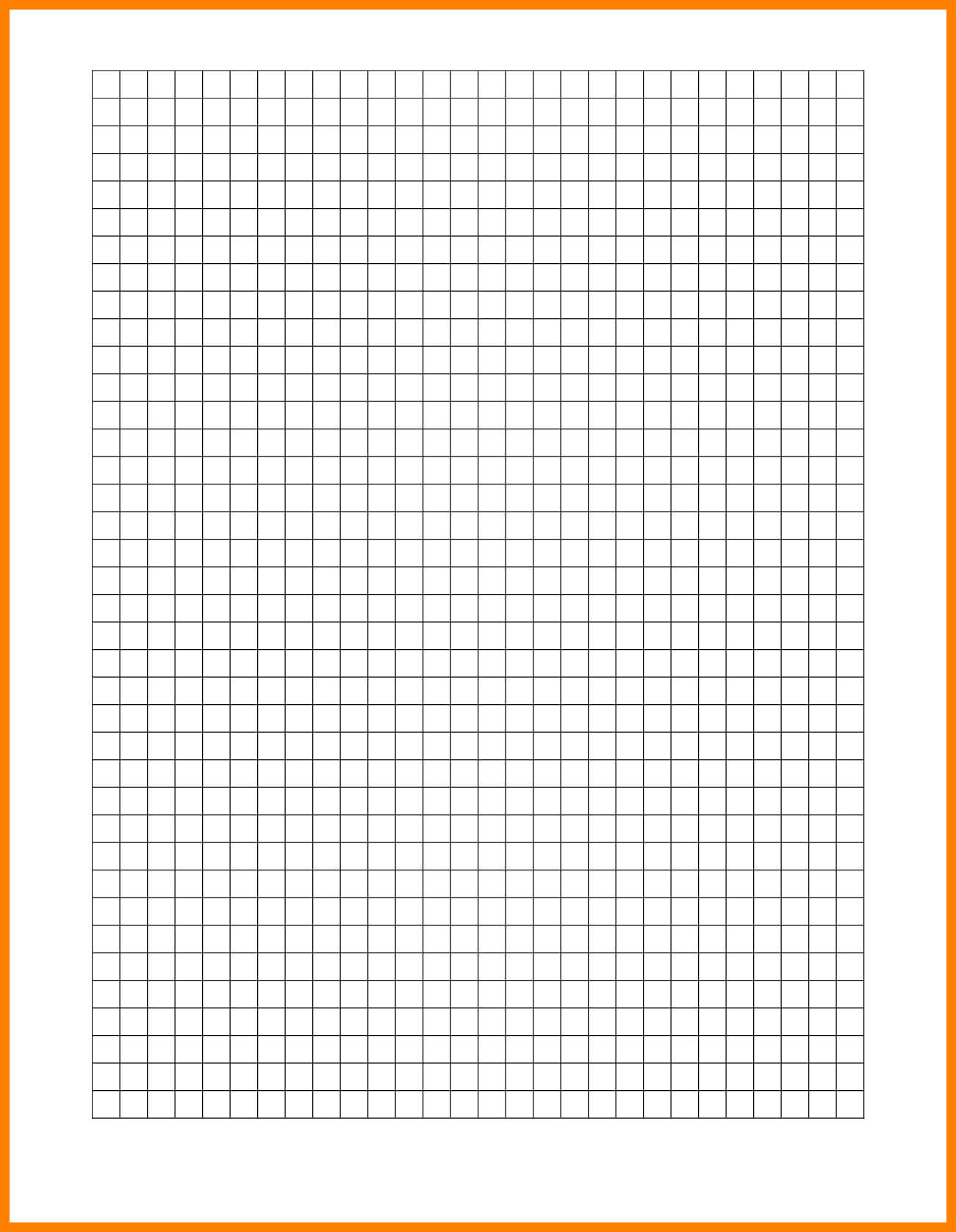 10+ Graph Paper Word Template | Management-On-Call throughout 1 Cm Graph Paper Template Word