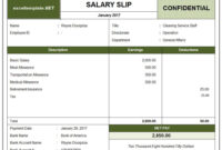 10+ Payslip Template | Word, Excel & Pdf Templates | Payroll with regard to Blank Payslip Template