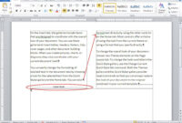 10 Tips For Working With Word Columns – Techrepublic pertaining to 3 Column Word Template