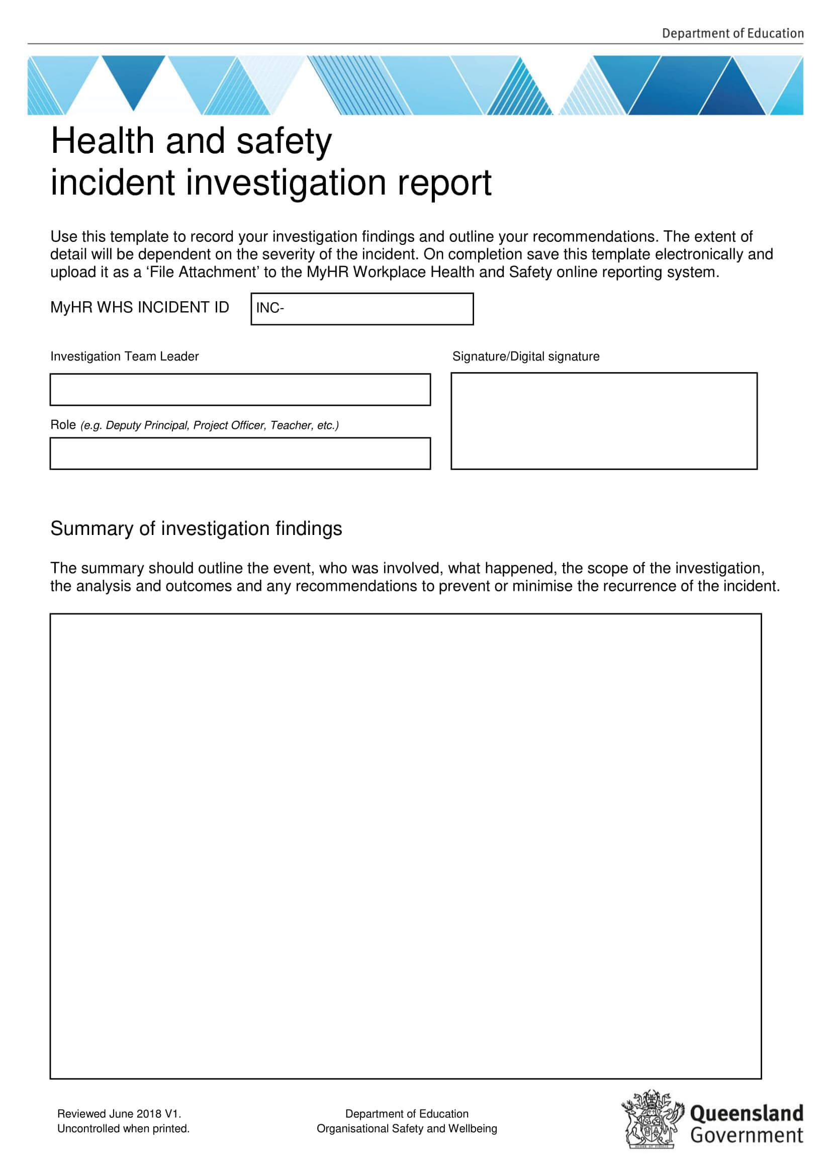 10+ Workplace Investigation Report Examples – Pdf | Examples Intended For Sexual Harassment Investigation Report Template