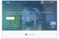 100+ Free Bootstrap Html5 Templates For Responsive Sites regarding Html5 Blank Page Template