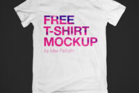 100+ T-Shirt Templates, Vectors & Psd Mockups [Free for Blank T Shirt Design Template Psd