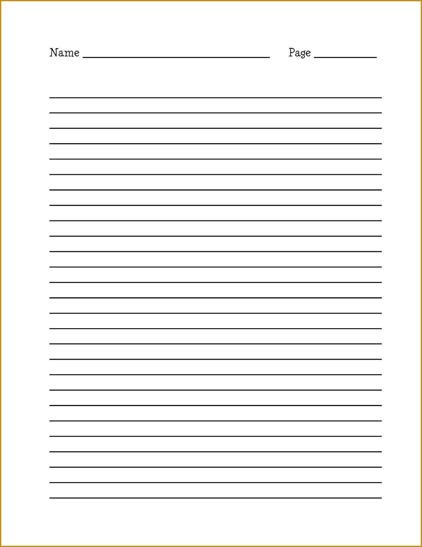 11-12 Template For Ruled Paper | Lasweetvida with College Ruled Lined Paper Template Word 2007