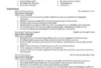 11 Amazing Management Resume Examples | Livecareer with regard to Operations Manager Report Template