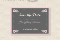 11 Free Save The Date Templates intended for Save The Date Powerpoint Template