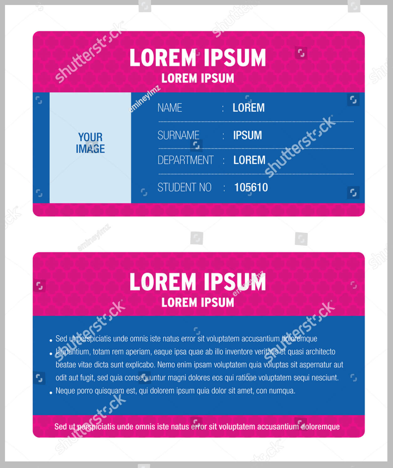 11+ Iconic Student Card Templates - Ai, Psd, Word | Free For Isic Card Template