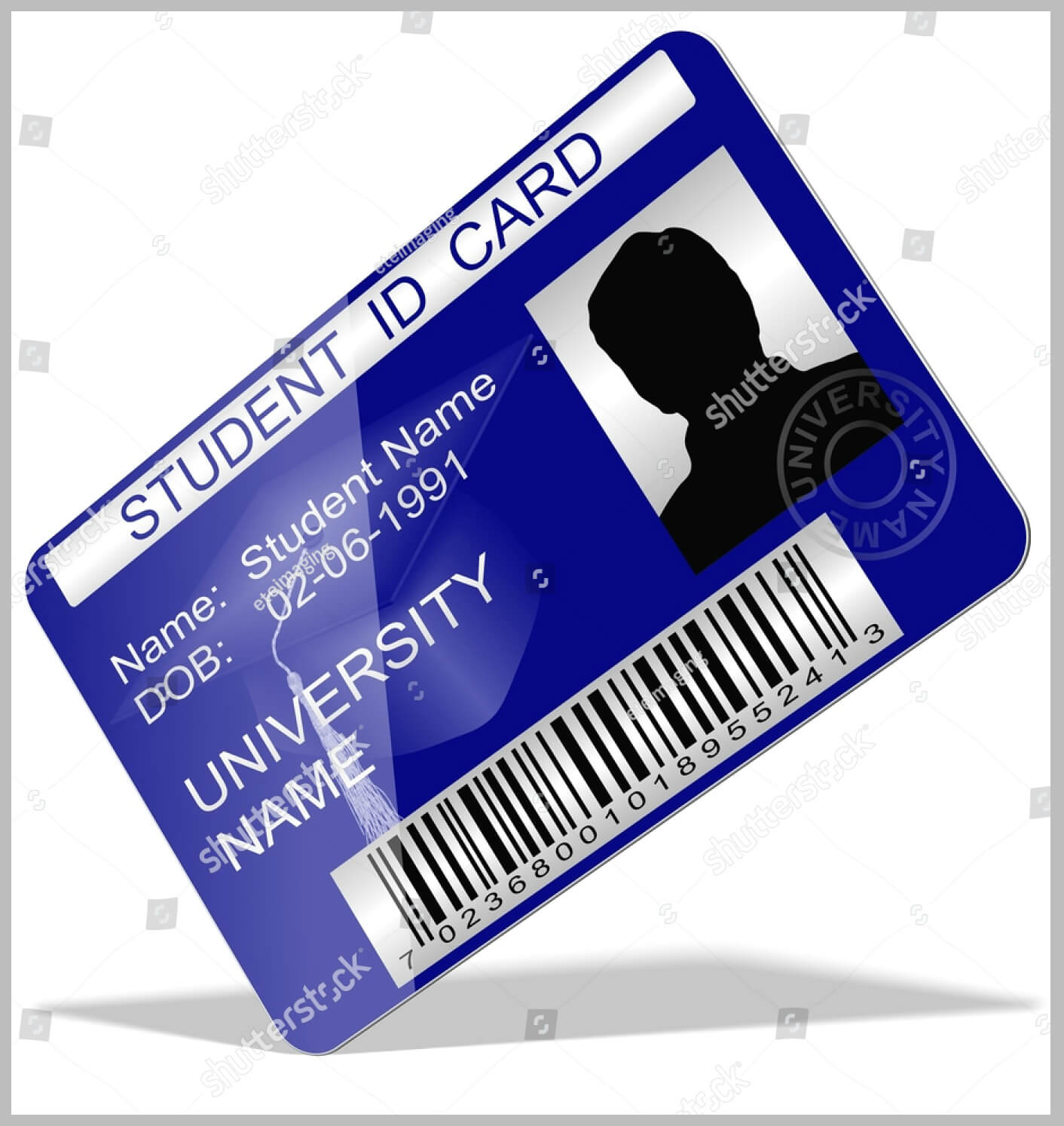 11+ Iconic Student Card Templates - Ai, Psd, Word | Free regarding Isic Card Template
