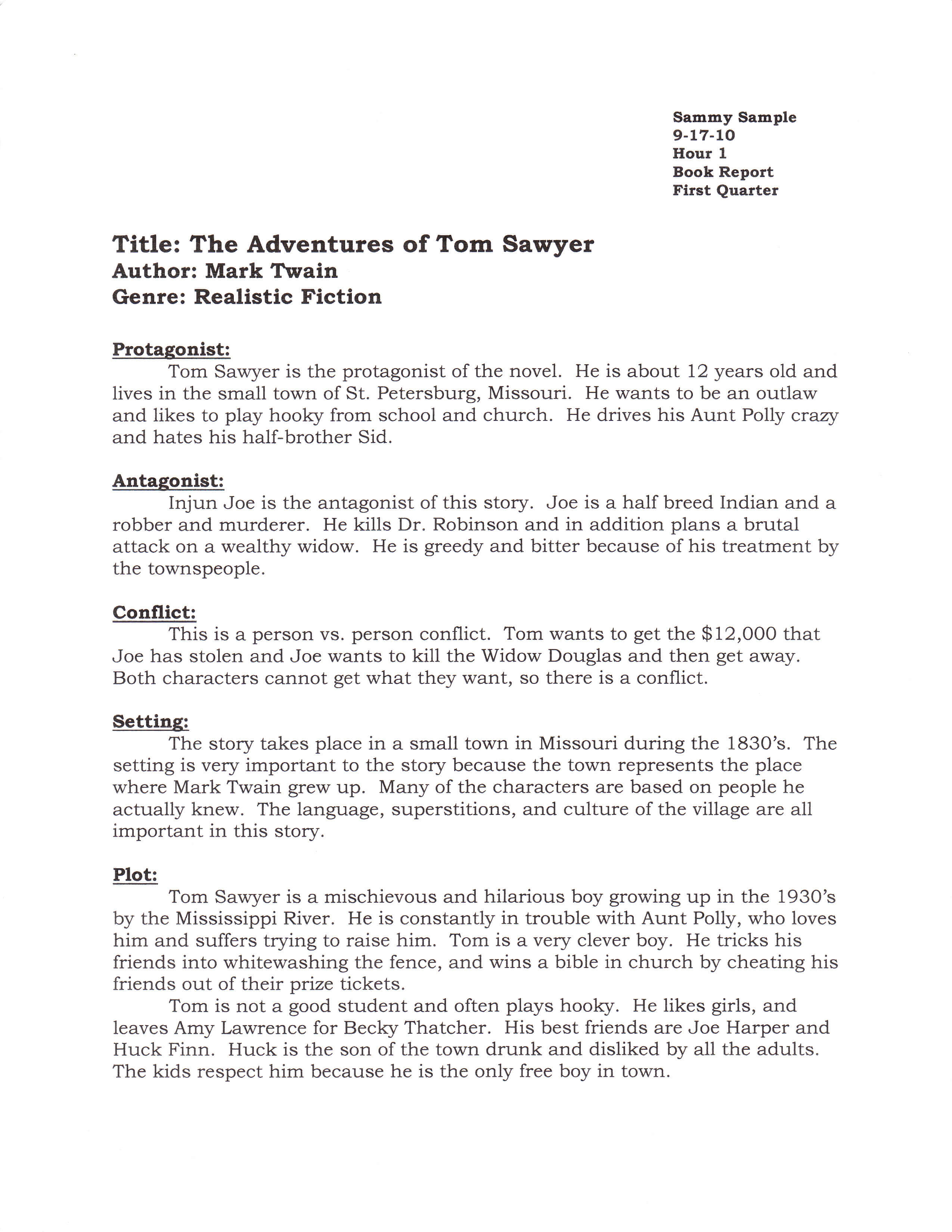 11+ Narrative Report Examples - Pdf | Examples with regard to College Book Report Template
