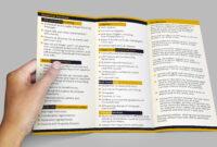 11X17 Tri Fold Brochure #8.5 X 11 Trifold Brochure Template with 11X17 Brochure Template