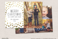 12 Christmas Card Photoshop Templates To Get You Up And for Christmas Photo Card Templates Photoshop