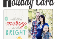 13 Free Photoshop Holiday Card Templates From Becky Higgins in Free Photoshop Christmas Card Templates For Photographers