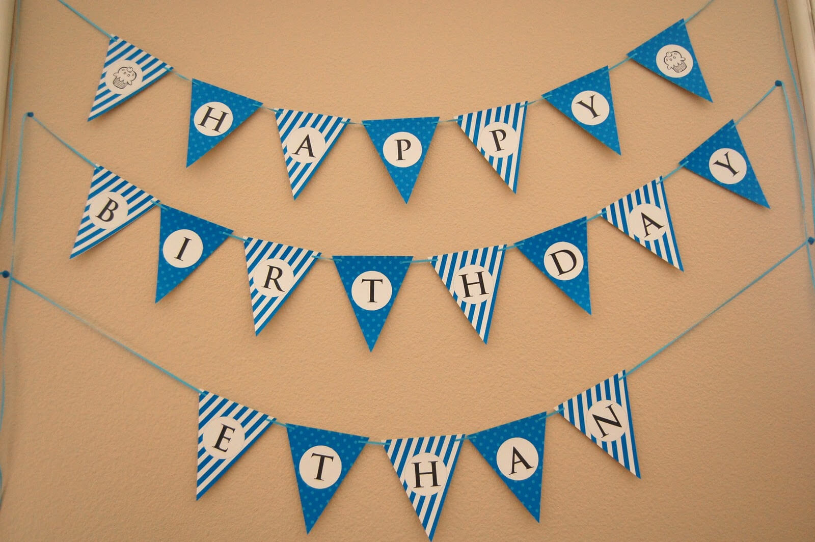 13 Happy Birthday Banner Design Images - Free Happy Birthday inside Free Printable Happy Birthday Banner Templates