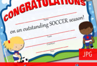13+ Soccer Award Certificate Examples – Pdf, Psd, Ai with regard to Soccer Award Certificate Template