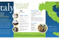 13 Travel Brochure Design Templates Images – Travel Brochure in Country Brochure Template