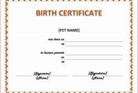 14+ Adoption Certificate Templates   Proto Politics for Child Adoption Certificate Template