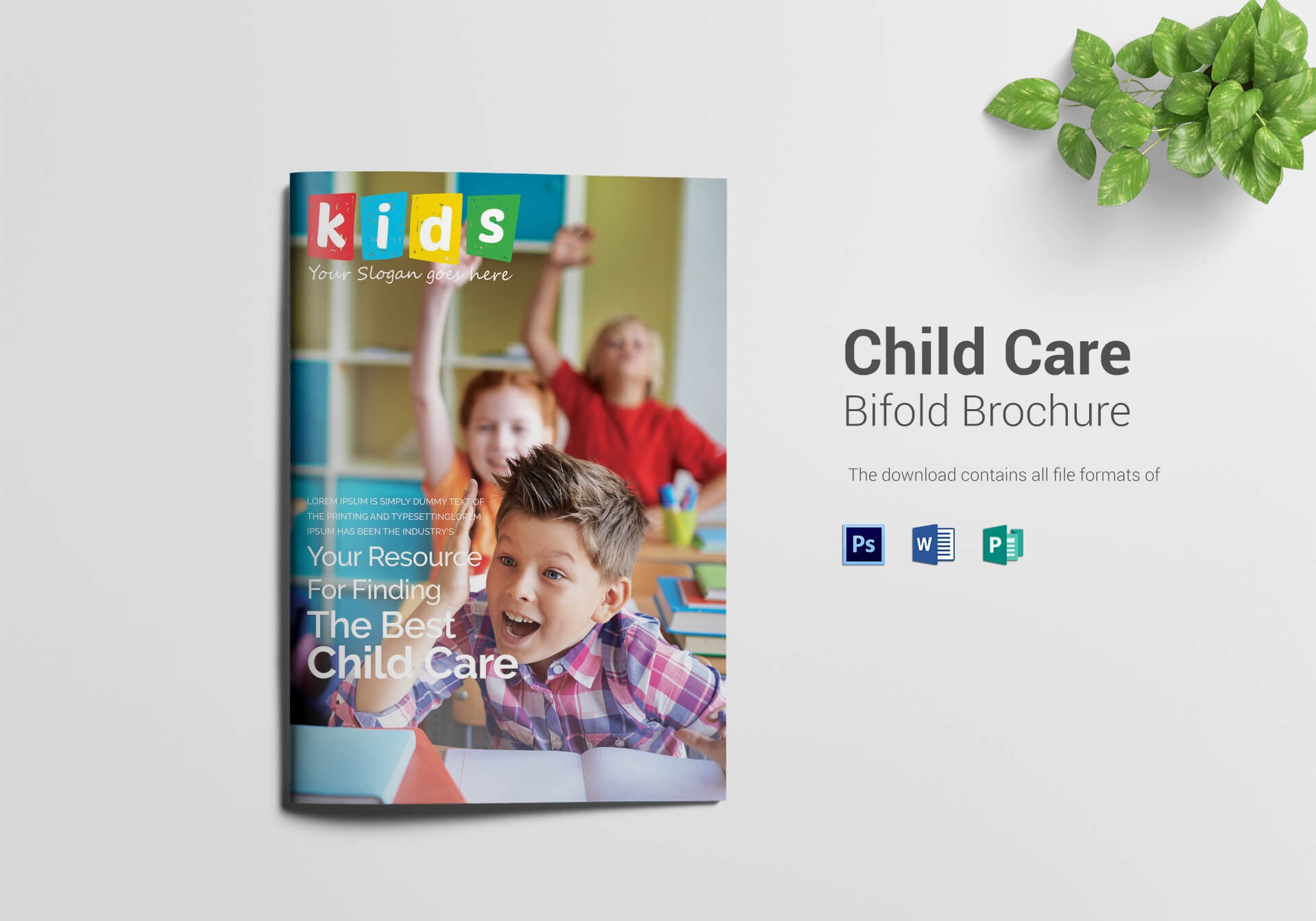 14+ Child Care Brochure Designs & Templates | Free & Premium inside Daycare Brochure Template