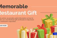 14+ Restaurant Gift Certificates | Free & Premium Templates in Dinner Certificate Template Free