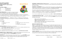 15 Awesome Syllabus Template For Middle School Images within Blank Syllabus Template