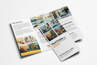 15 Free Tri-Fold Brochure Templates In Psd & Vector – Brandpacks for One Sided Brochure Template