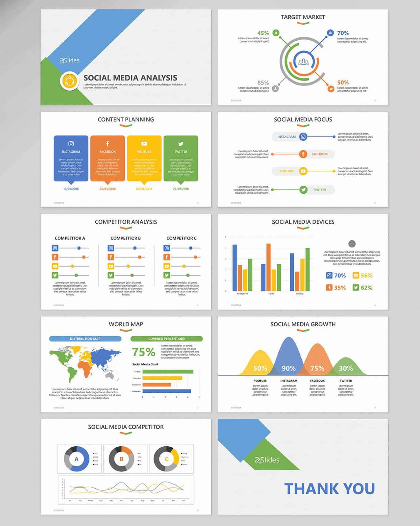15 Fun And Colorful Free Powerpoint Templates   Present Better For Sample Templates For Powerpoint Presentation