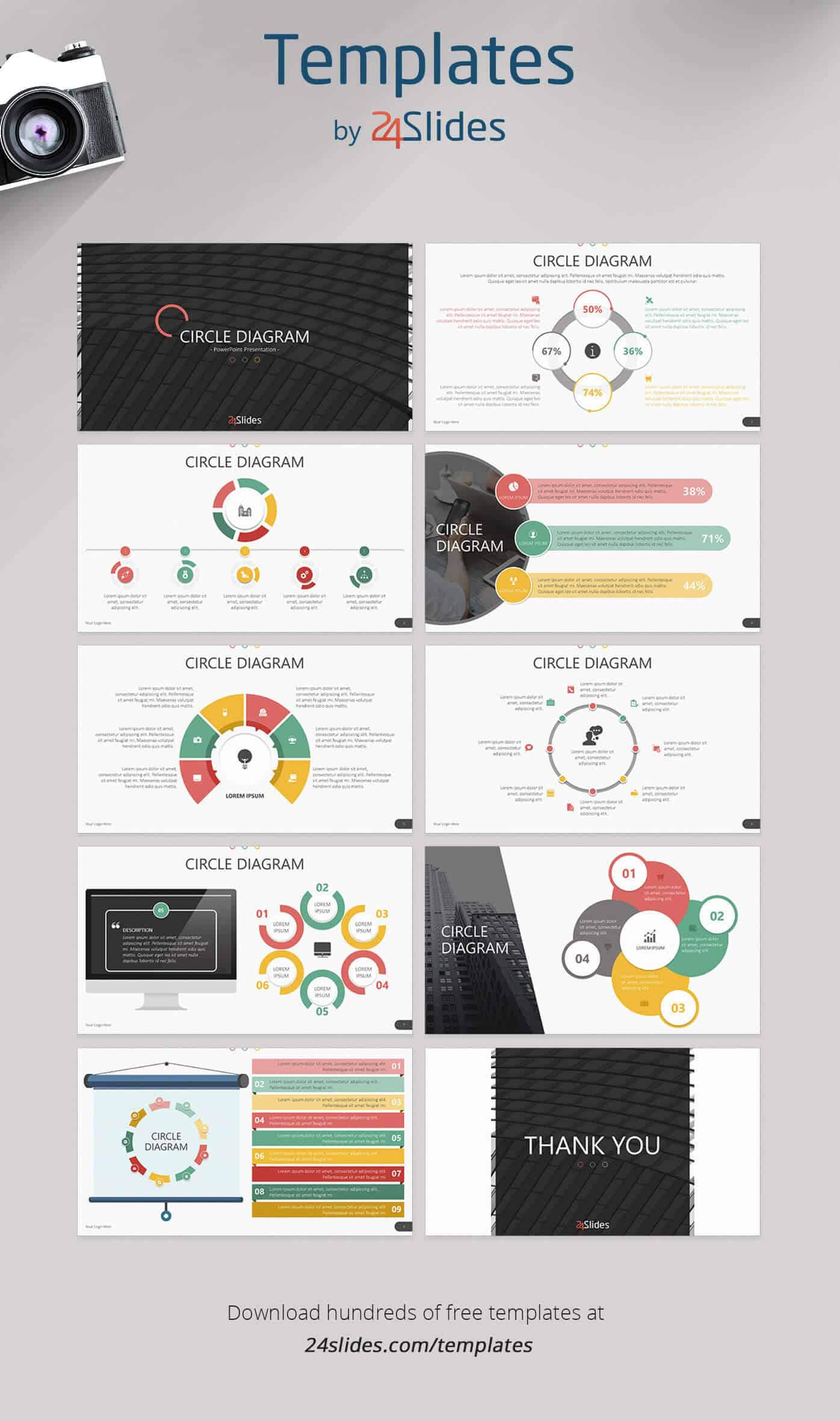 15 Fun And Colorful Free Powerpoint Templates | Present Better Pertaining To Powerpoint Photo Slideshow Template