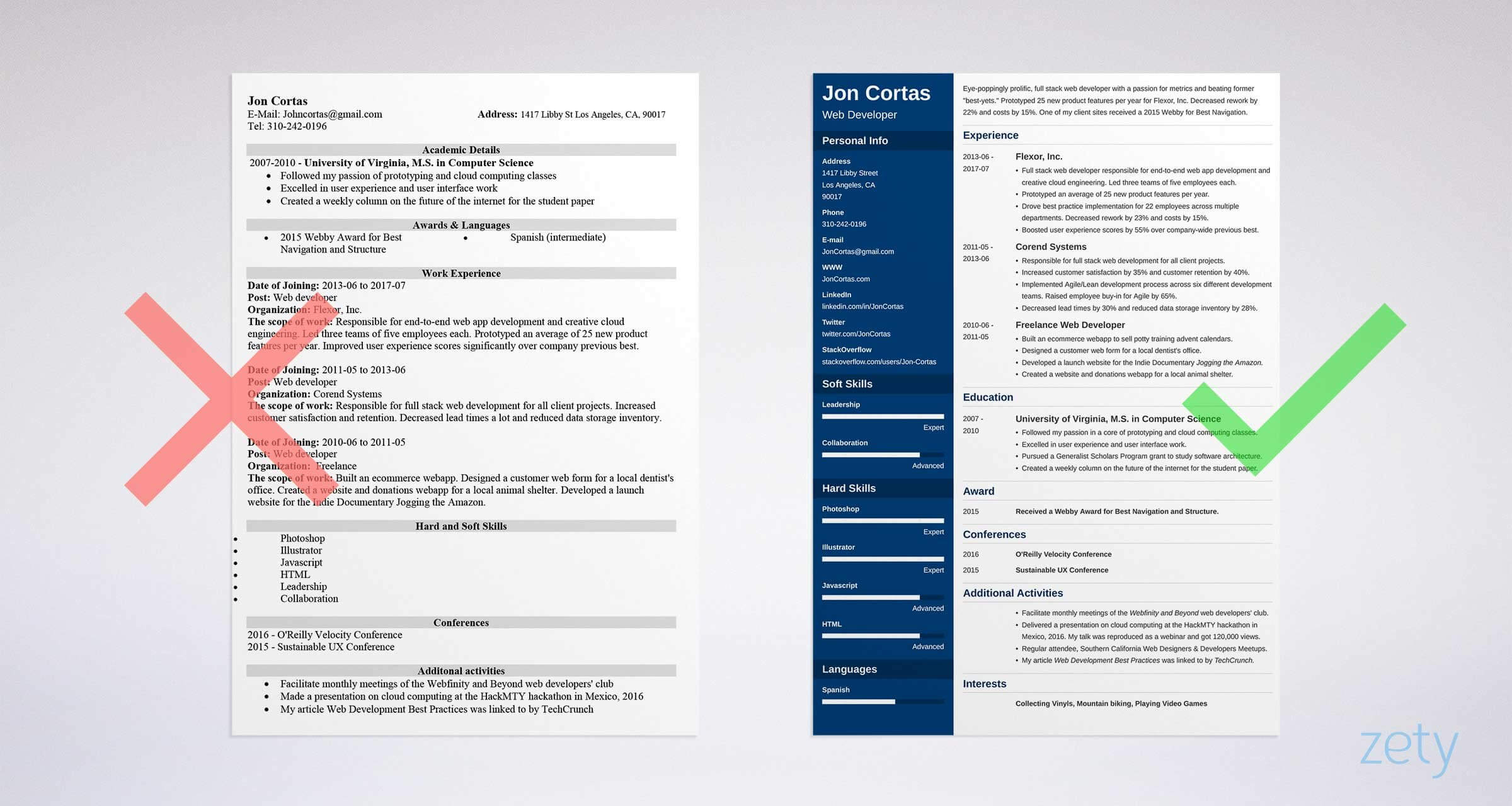15+ Resume Templates For Microsoft Word [Free Download] Pertaining To Resume Templates Word 2010