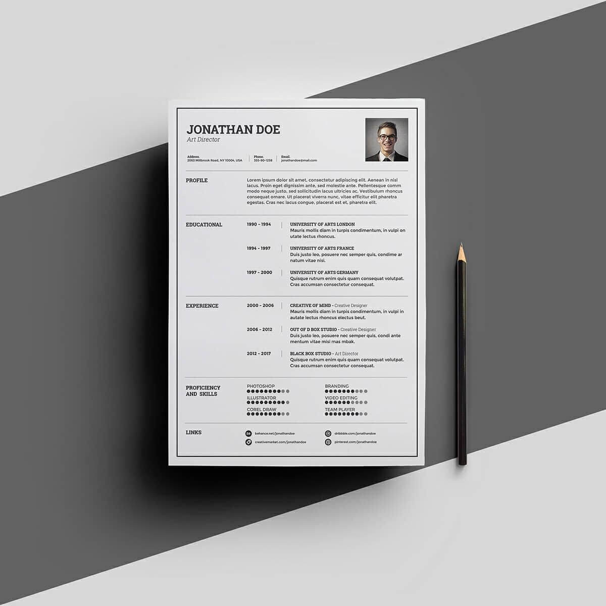 15+ Resume Templates For Microsoft Word [Free Download] Regarding Free Downloadable Resume Templates For Word